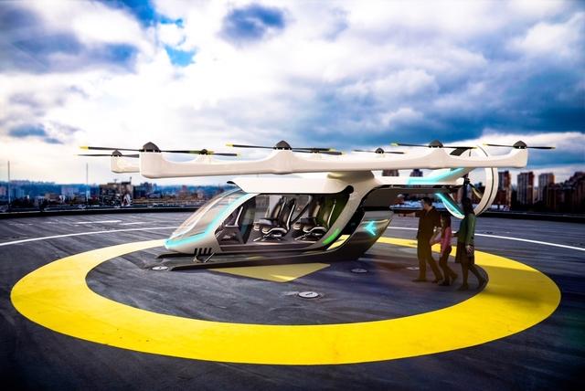 Embraer eVTOL concept