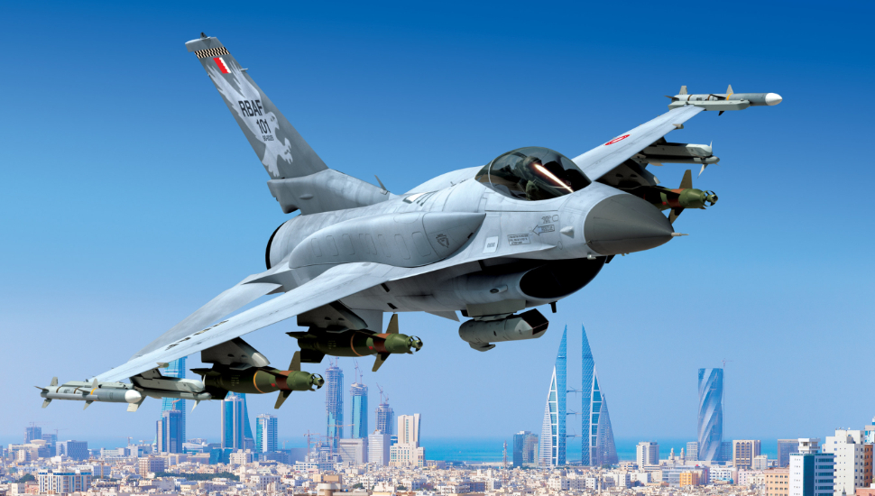 F-16 Block 70 aircraft for the Royal Bahraini Air