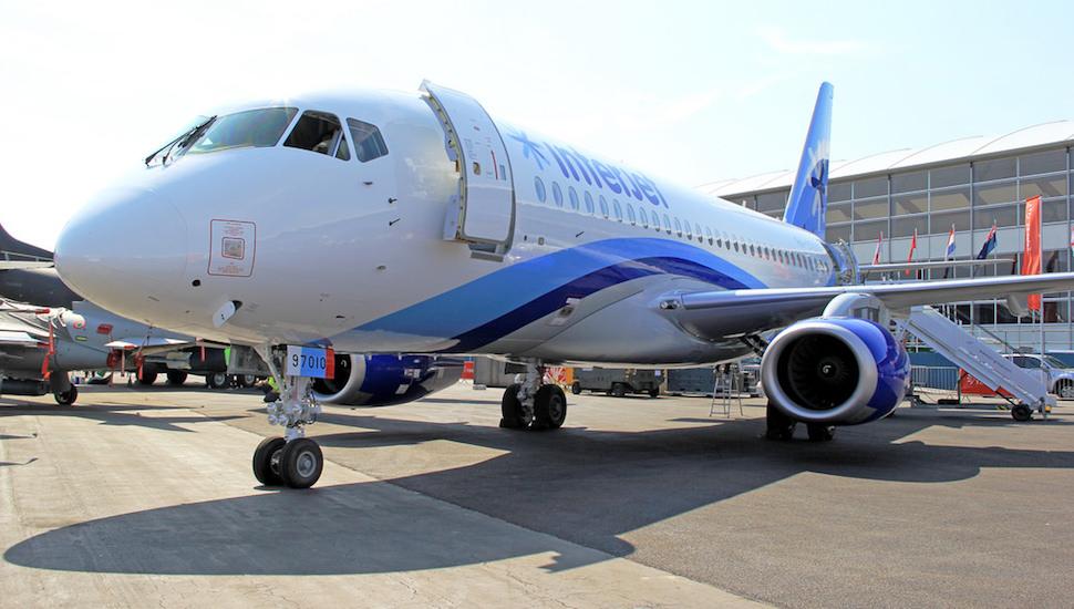 Interjet sukhoi Superjet SSJ100