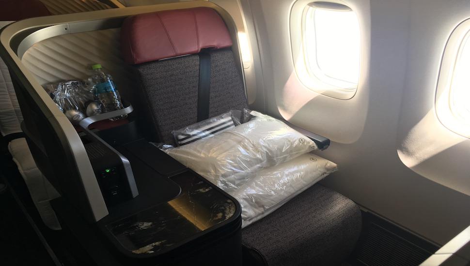 LATAM new business class seat