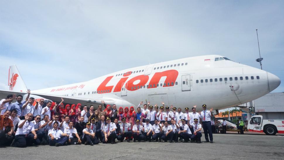 Lion Air 747 retirement