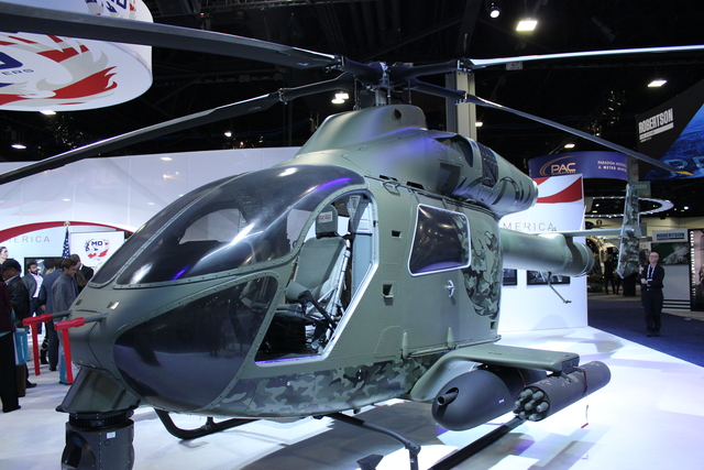 MD Helicopters MD969 at HeliExpo 2019