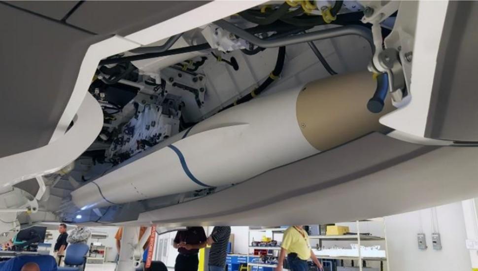 Northrop Grumman AARGM-ER fit check in F-35