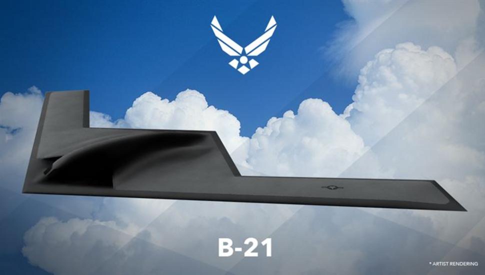 Northrop Grumman B-21 Raider artistic rendering