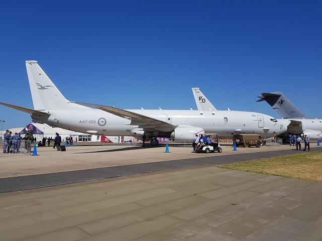 RAAF P-8A