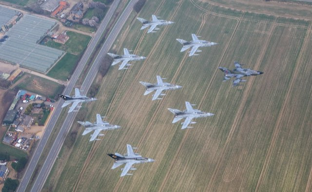 RAF Tornados - Crown Copyright