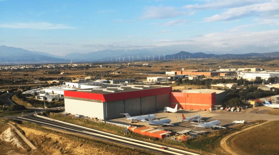 Sabena Technics Perpignan site