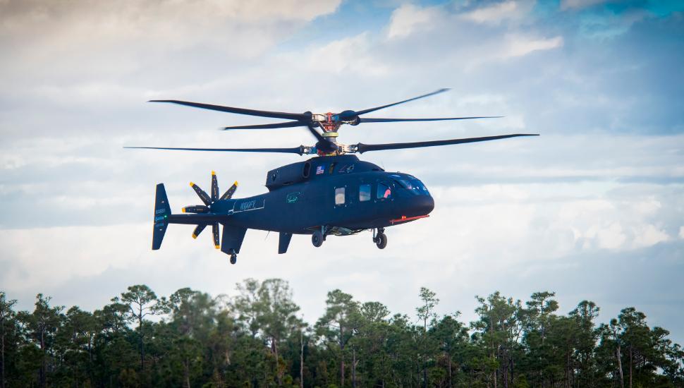 Sikorsky-Boeing SB-1 Defiant first flight 1
