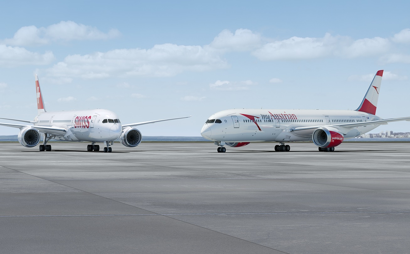 Swiss and Austrian 787-9s