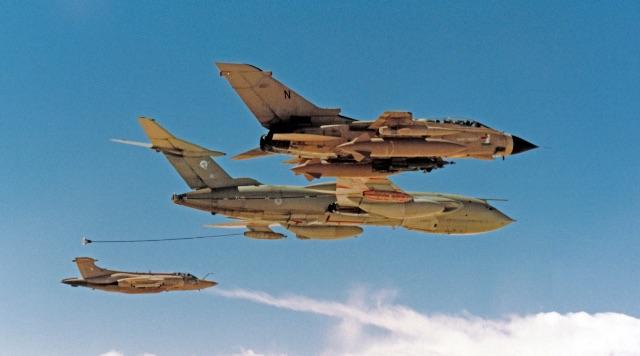 Tornado GR1 Gulf War - Crown Copyright