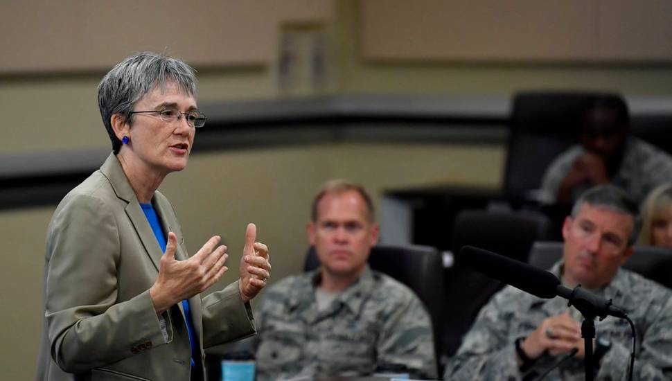 US Air Force Secretary Heather Wilson