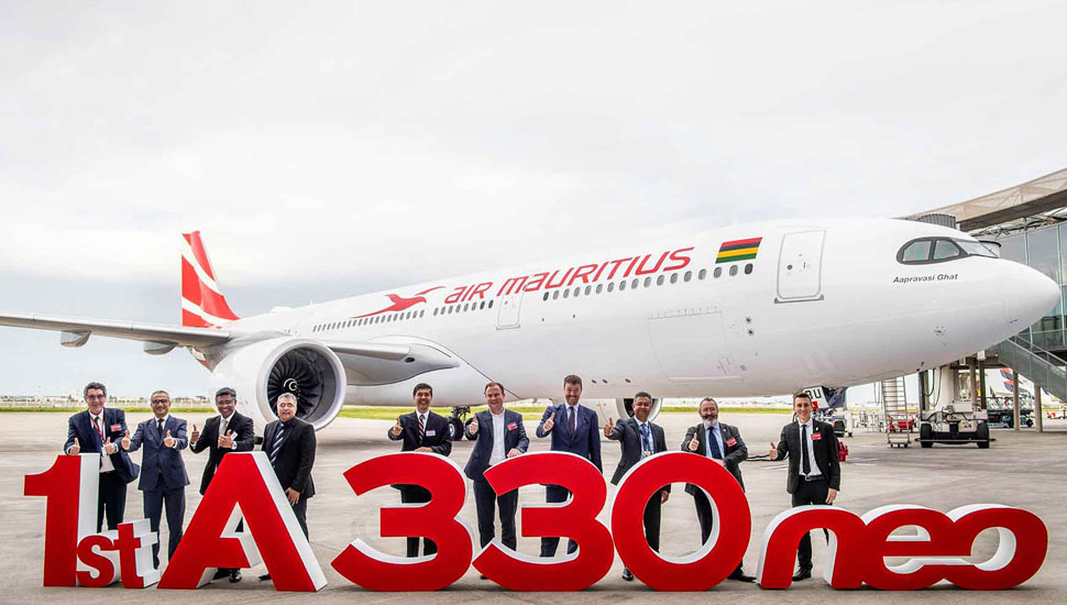 Air Mauritius first A330neo