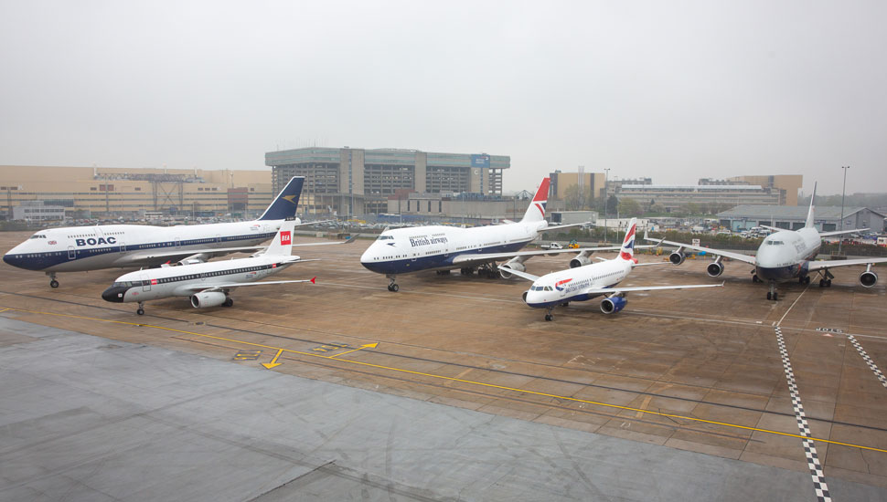 BA retro jet all together 3