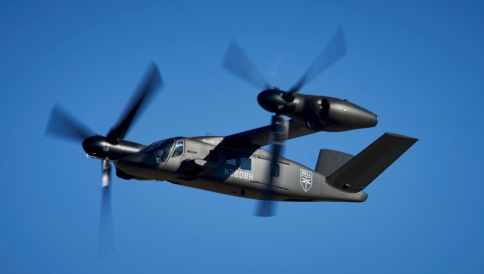 Bell V-280 Valor forward flight