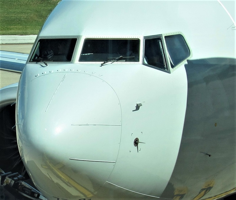Boeing 737 Max 8 sensor