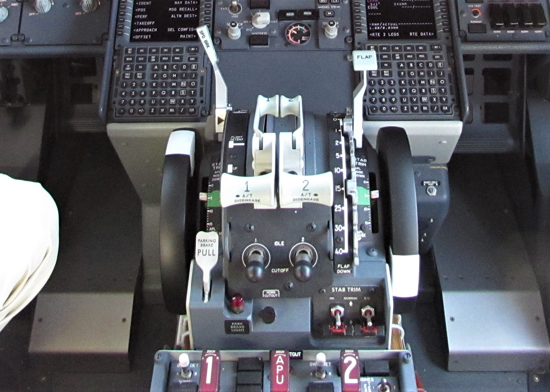 Boeing 737 Max 8 stabiliser trim cut-out