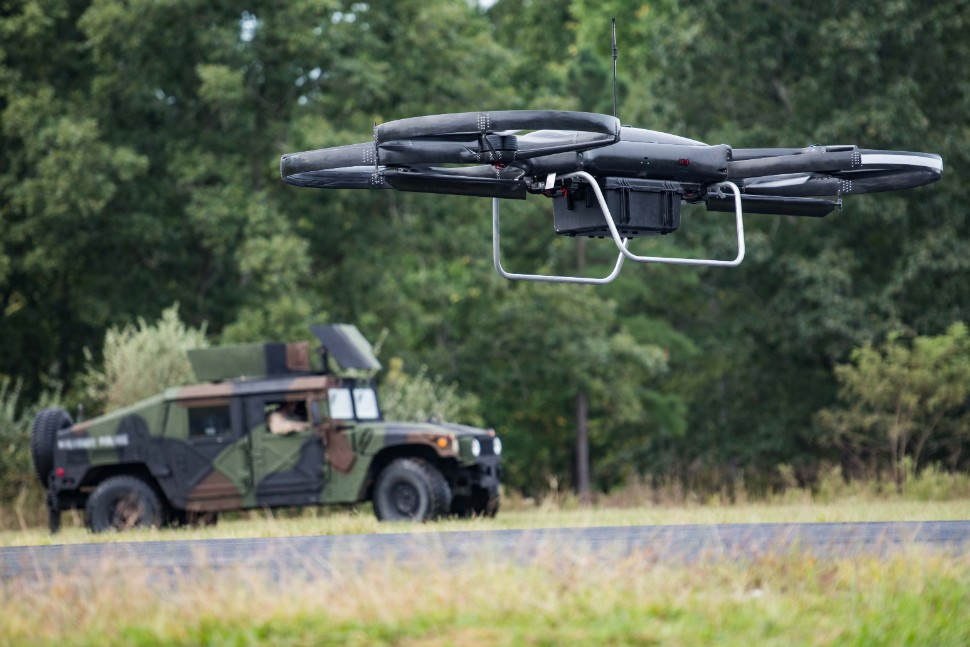 Cargo UAV prototype used in Army Research Laborato
