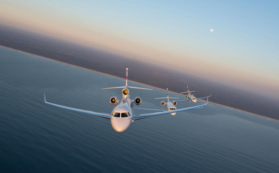 Dassault falcon family