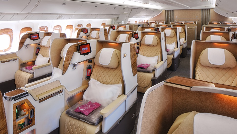 Emirates 777 business