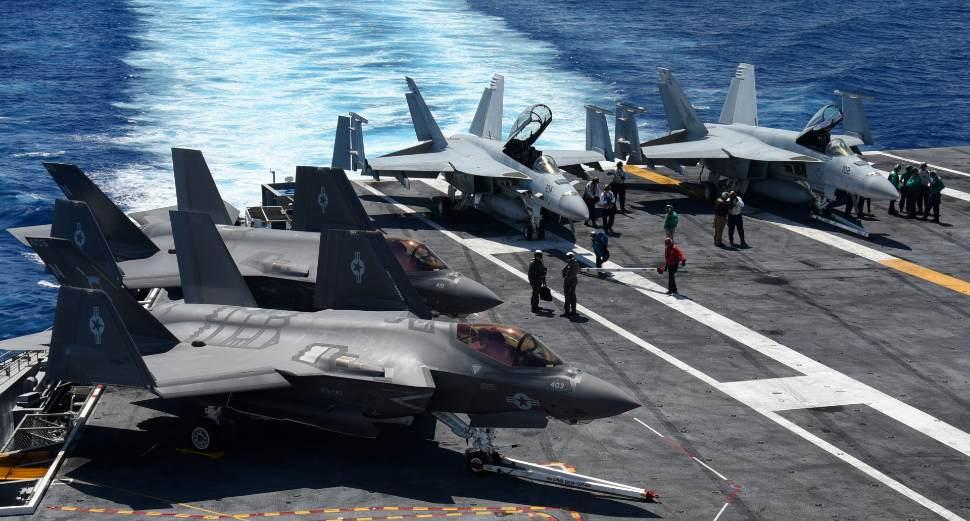 F-35C Super Hornet - US Navy