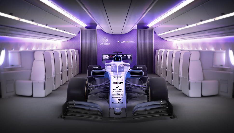 Formula 1 team Williams and JPA Design 2