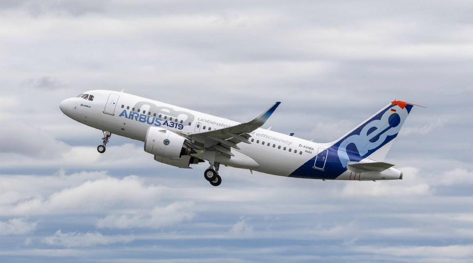 GTF-powered A319neo first flight