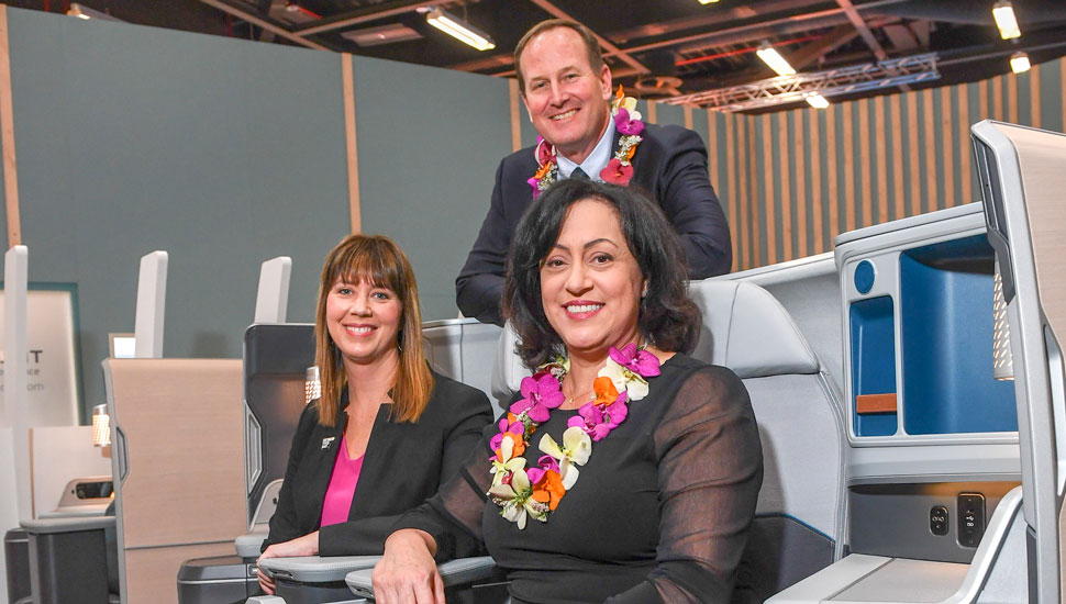 Hawaiian becomes first customer for Adient Aerospa