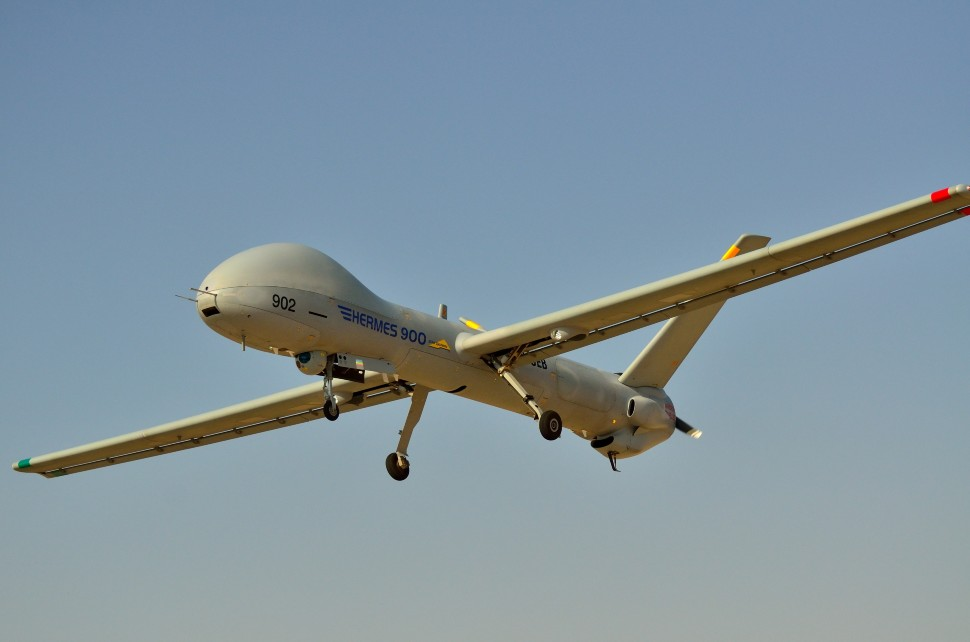 Hermes 900 c Elbit Systems