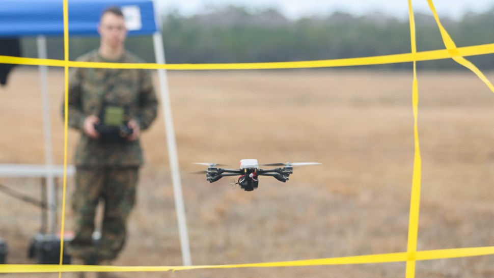 InstantEye drone on test c US Marine Corps 170208-