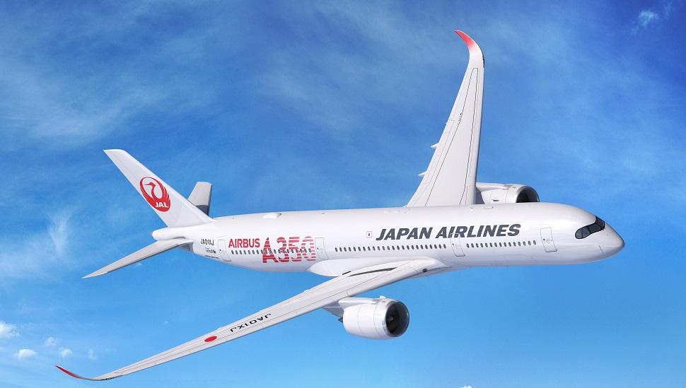 JAL A350-900 render