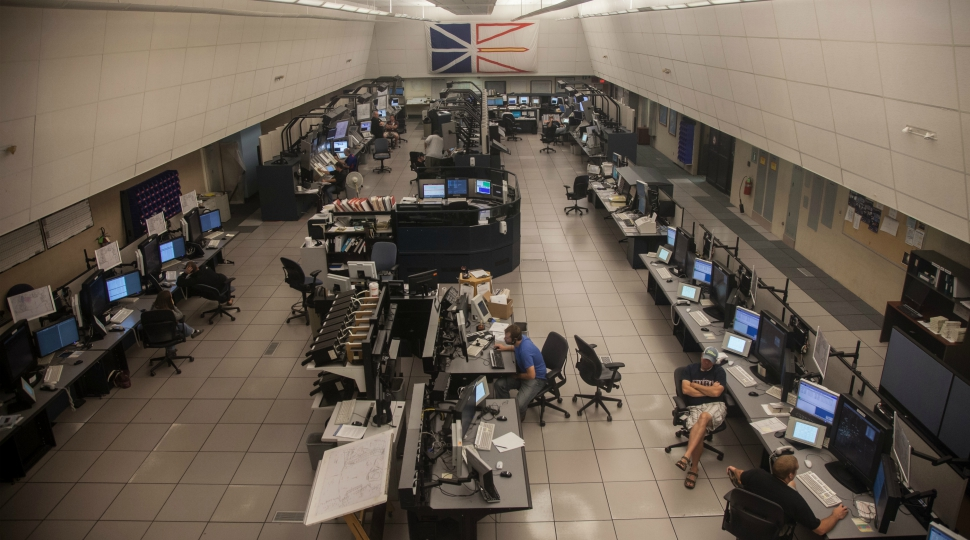 Nav Canada Gander control centre