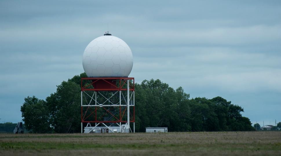 Nav Canada radar station in Winnipeg