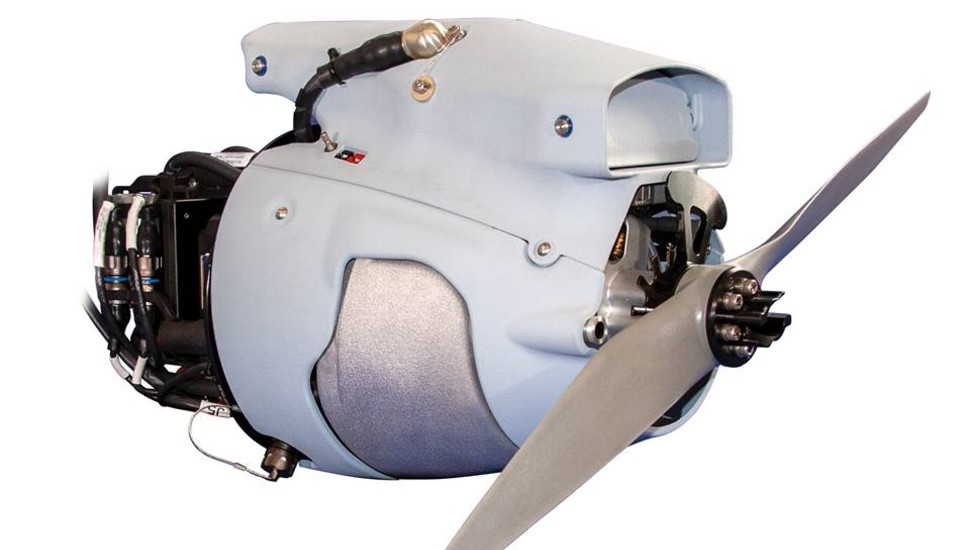 Northwest UAV NW-44 Engine - 2