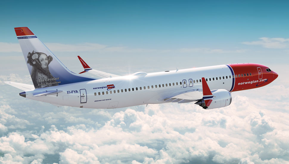 Norwegian 737 MAX Ada Lovelace