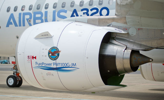 Pratt & Whitney airbus engine