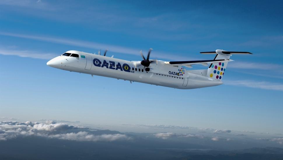 Q400 Qazaq 970x550px. Bombardier