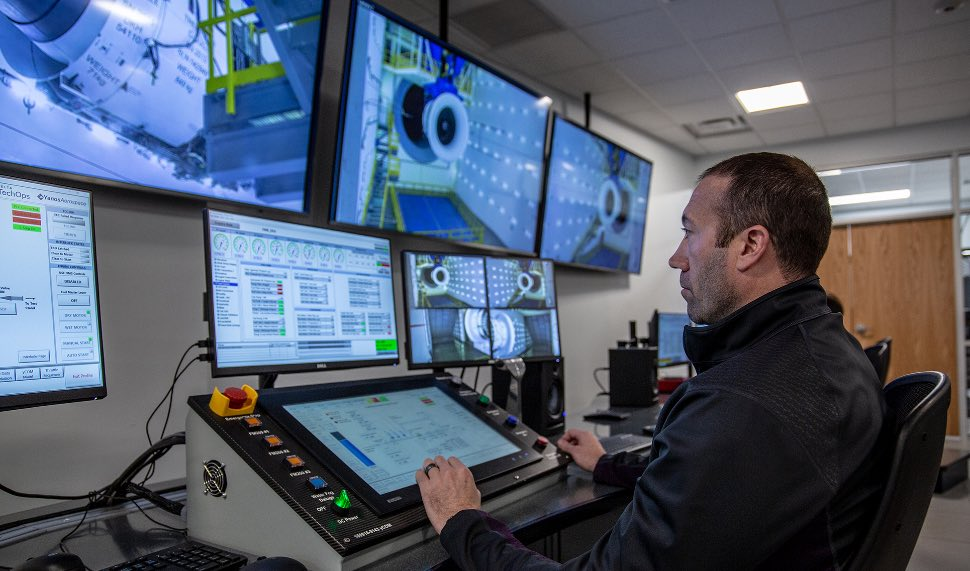 Test cell control centre - Delta Tech Ops