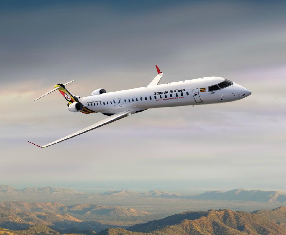 Uganda Airlines Bombardier CRJ900