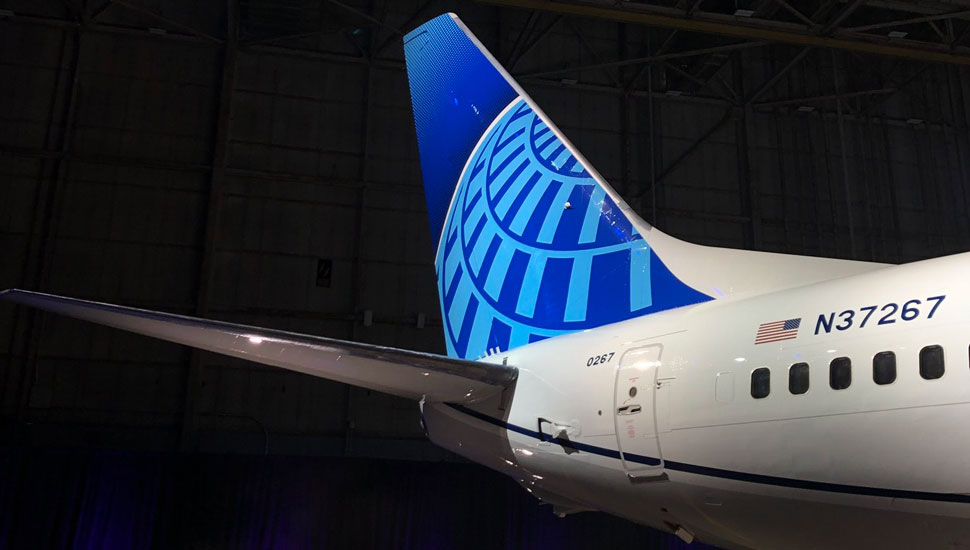 United new livery tail - edward russell