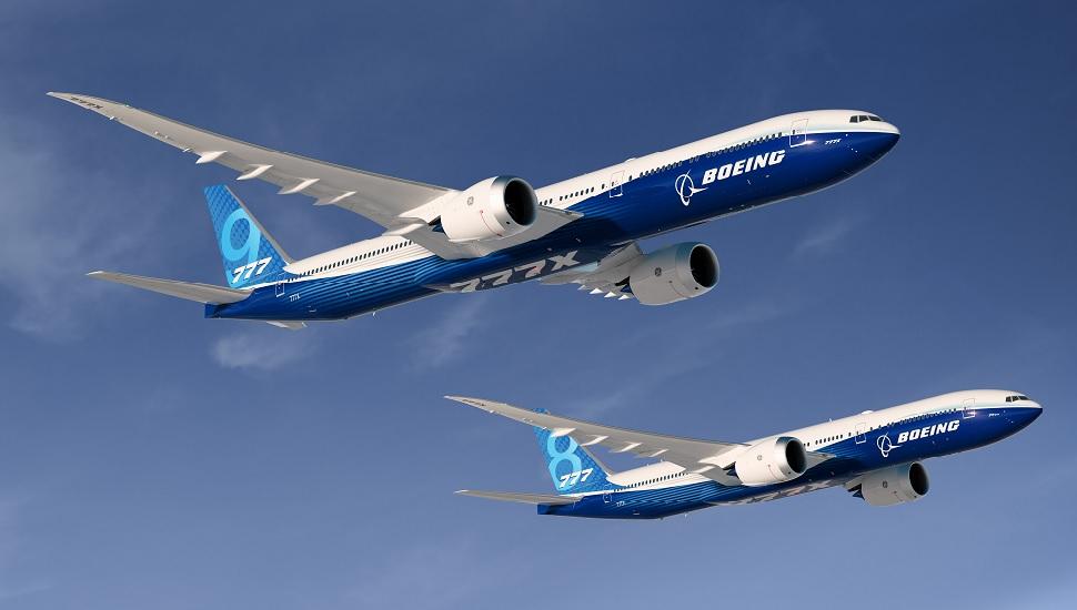 777X rendering Boeing.
