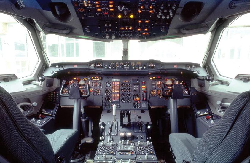 airbus 50 - 1 - a300b cockpit