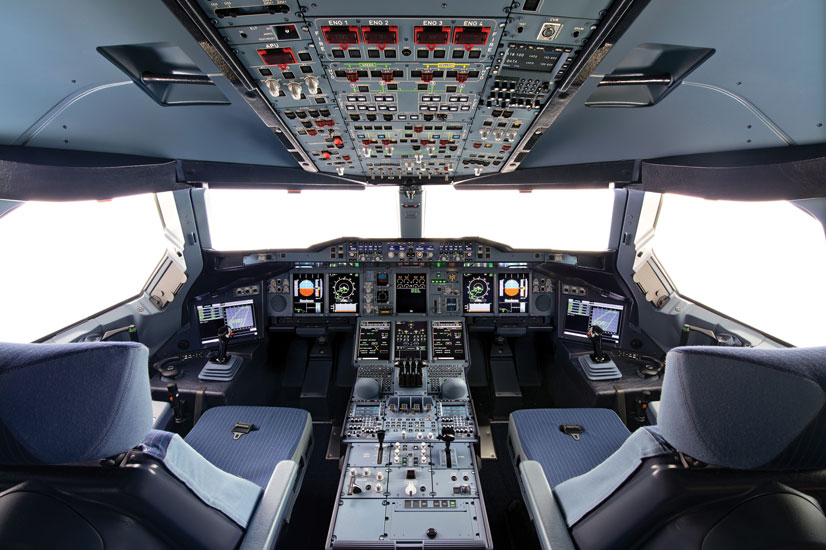 airbus 50 - 1 - a380 cockpit