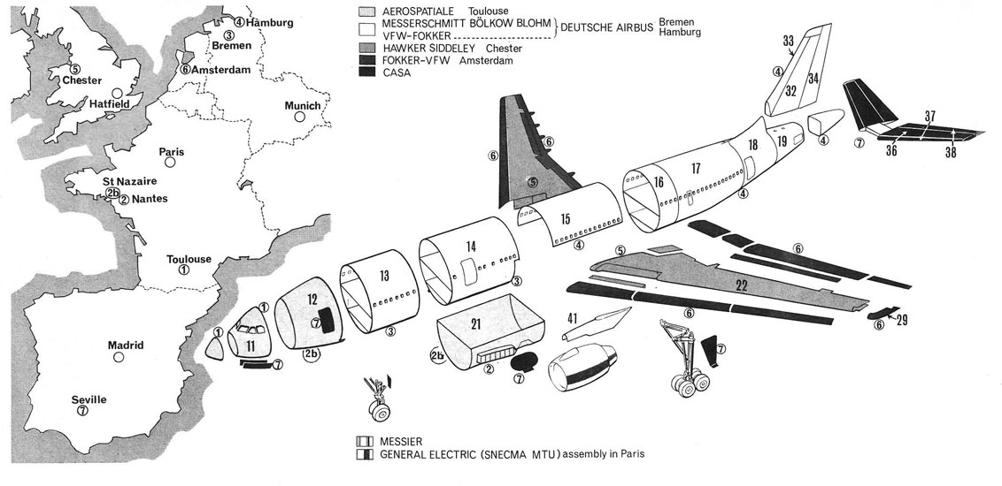airbus 50 a300 production plan
