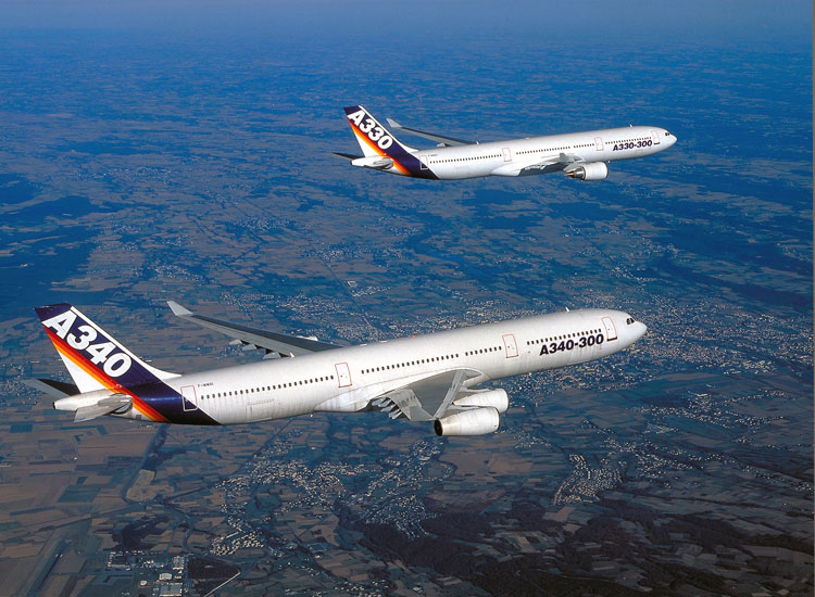 airbus 50 a330 and a340