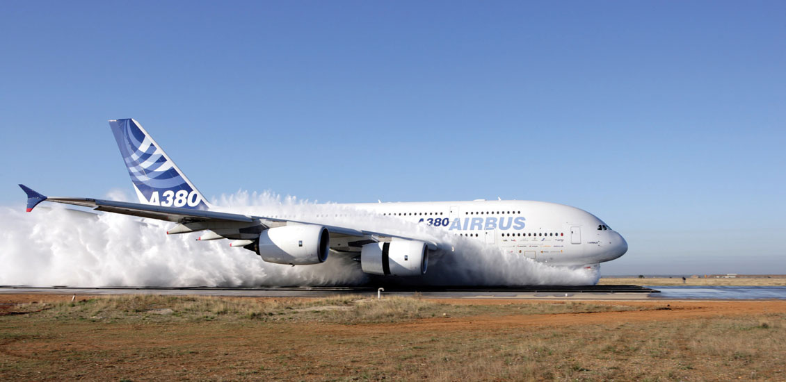 airbus 50 a380 watering
