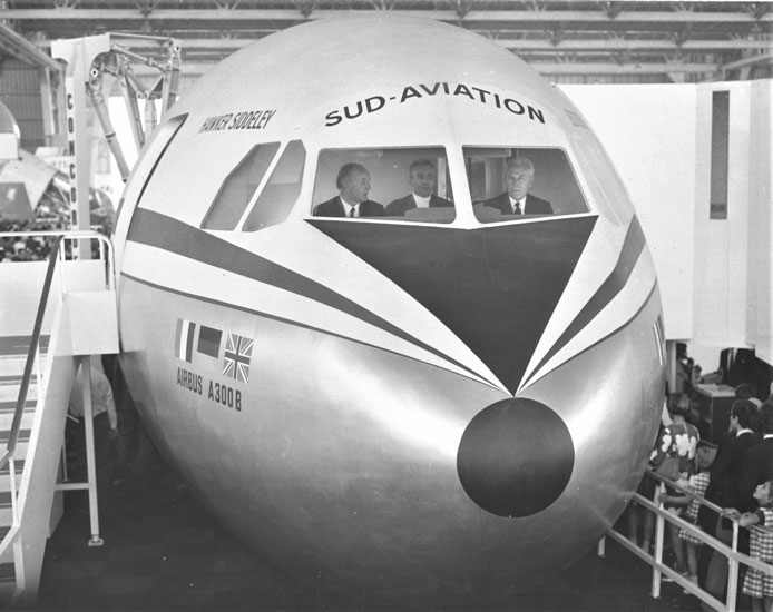 Airbus 50 signing at Le Bourget in May 1969