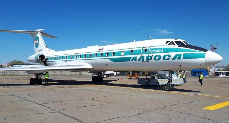 Alrosa Tu-134