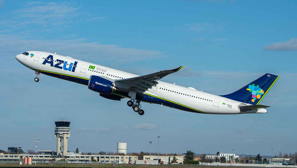 Azul receives the first Airbus A330neo in the Amer