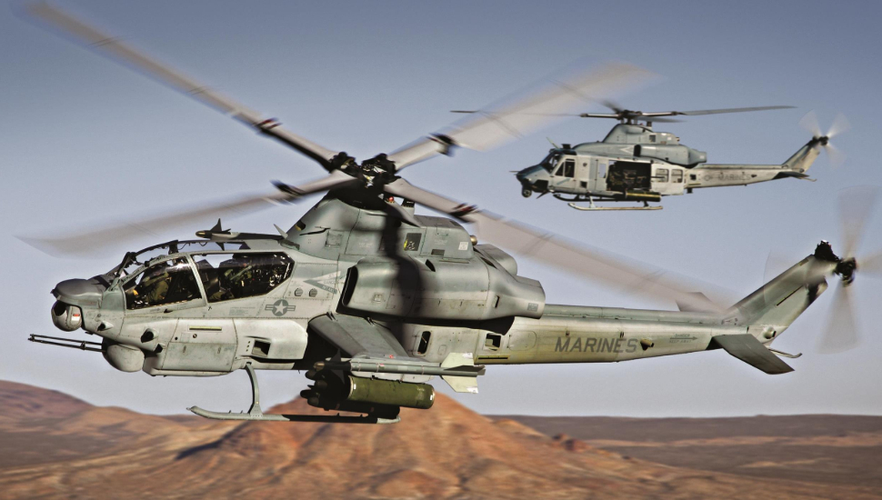 Bell AH-1Z and UH-1Y