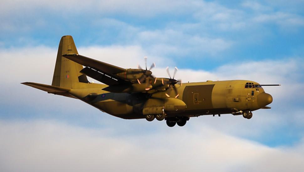 C-130J RAF ZH873